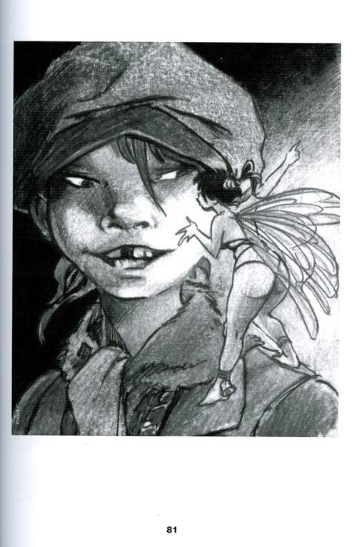 Régis Loisel - Peter Pan | Loisel, Dessin, Illustration pour Comment Dessiner Peter Pan