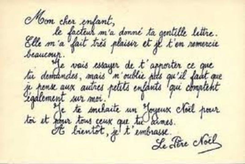 Réponse Du Père Noel À Un Enfant (Écrire, Modèles ,Gifs) intérieur Ecrire Une Lettre Au Pere Noel 2020