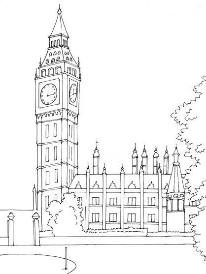 """Résultat De Recherche D'Images Pour """"Londres Dessin Facile dedans Coloriage Londres À Imprimer"""