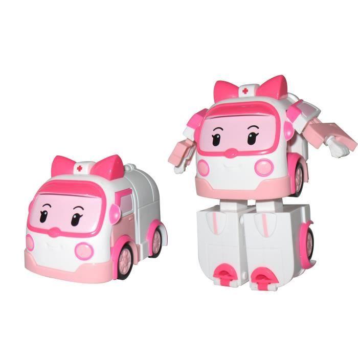 Robocar Poli - Ambre - Véhicule Transformable | Jouet De avec Jeux De Robocar Poli Gratuit
