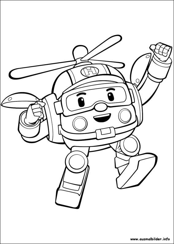 Robocar Poli Malvorlagen destiné Coloriage Pompier À Imprimer