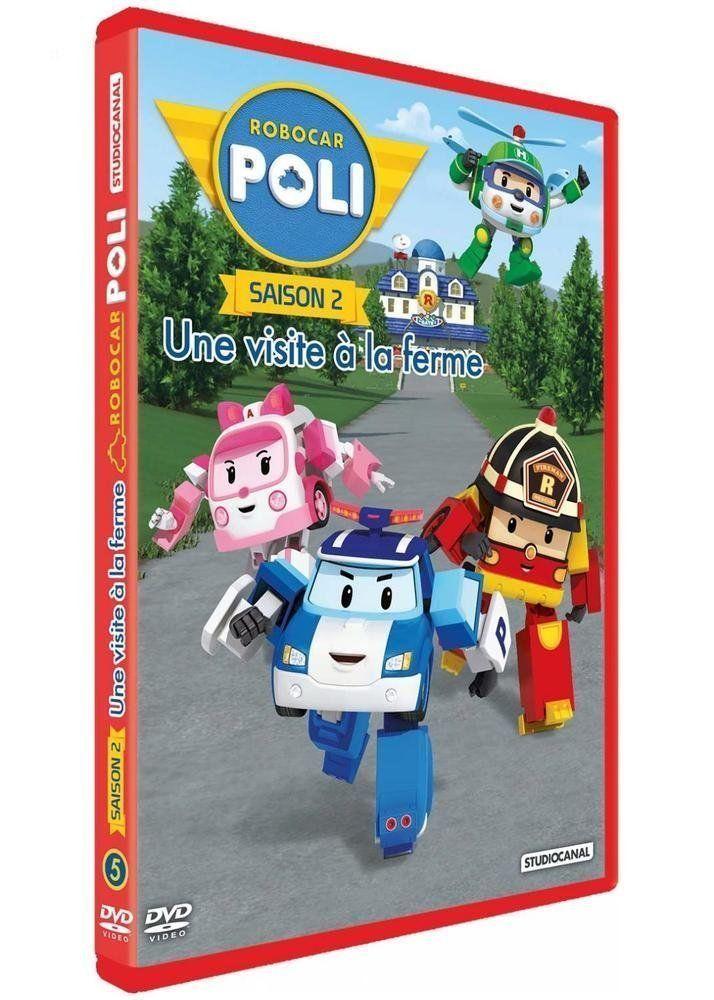 Robocar Poli - Saison 2 - 5 - Une Visite À La Ferme - Dvd destiné Jeux De Robocar Poli Gratuit