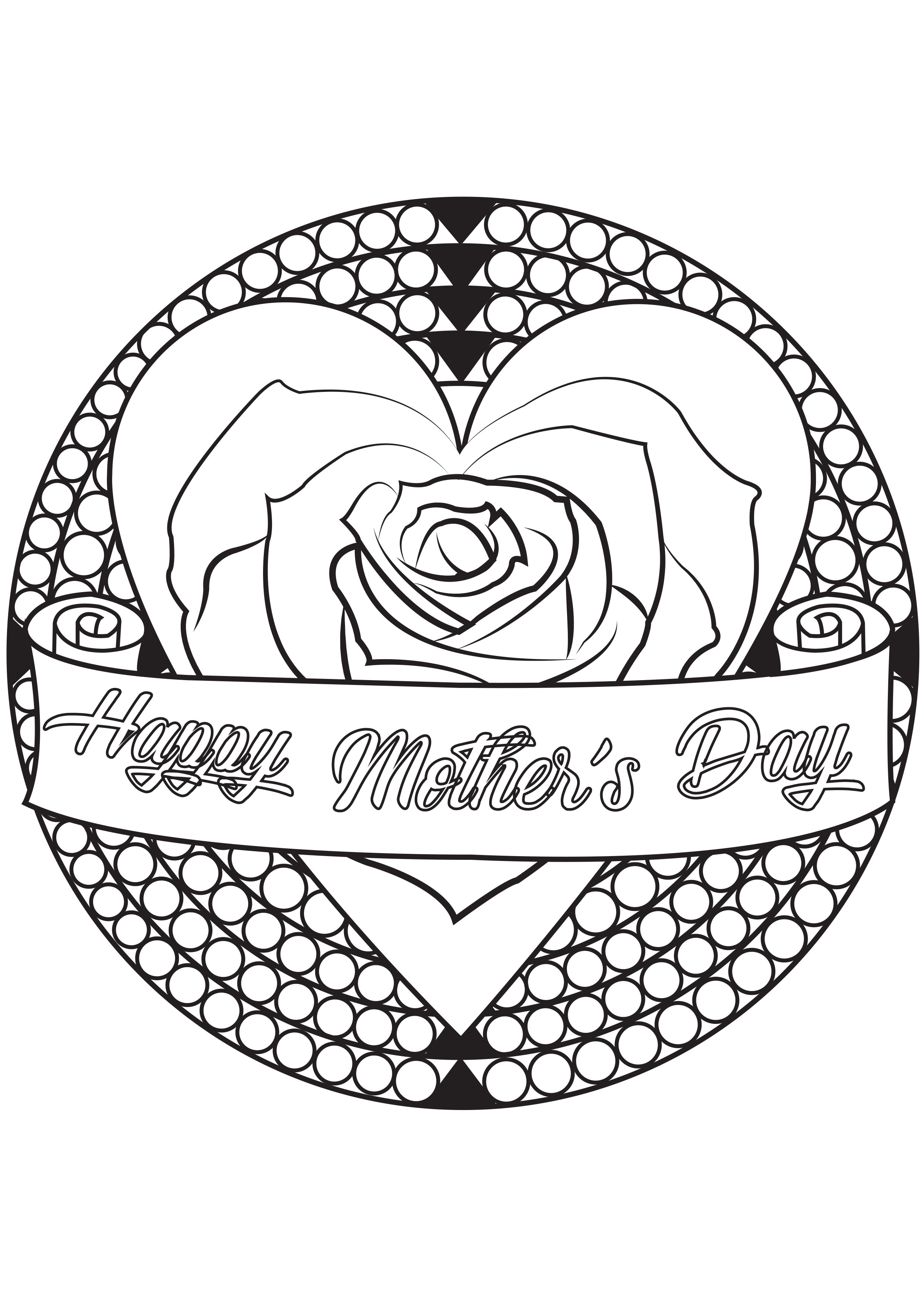 Rose - Coloring Pages For Adults pour Happy Color Coloriage