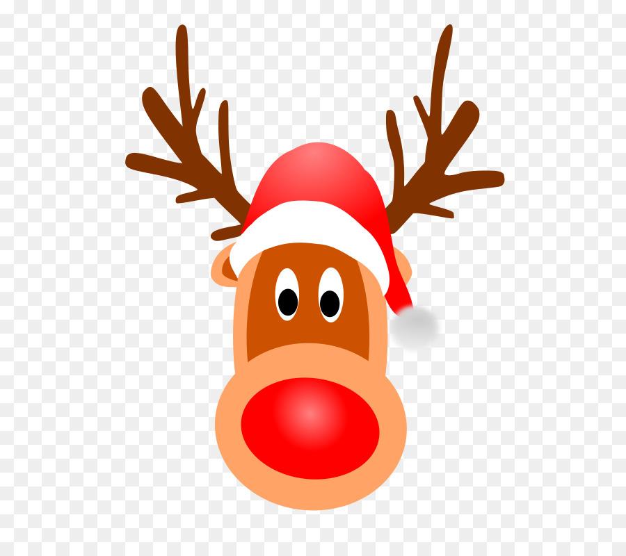 Rudolph Père Noël Rennes Du Père Noël Clip Art - Rudolph dedans Nom Des Rennes Du Pere Noel