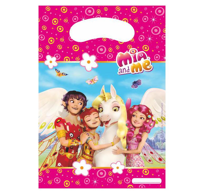 Sachets D'Anniversaire Enfant Mia And Me Pour Bonbons Et serapportantà Jeux De Mia Et Moi Gratuit