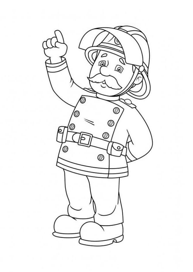 Sam Le Pompier Coloriage Beau Collection Coloriage Sam Le tout Jeux De Sam Le Pompier Gratuit