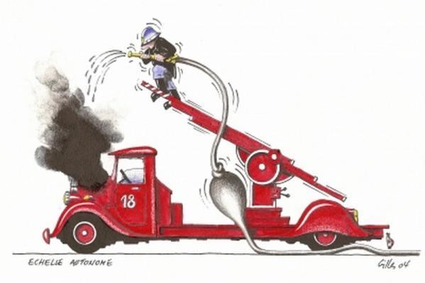 Sapeur Pompier Humour - Humour Du Jour destiné Dessin Sapeur Pompier