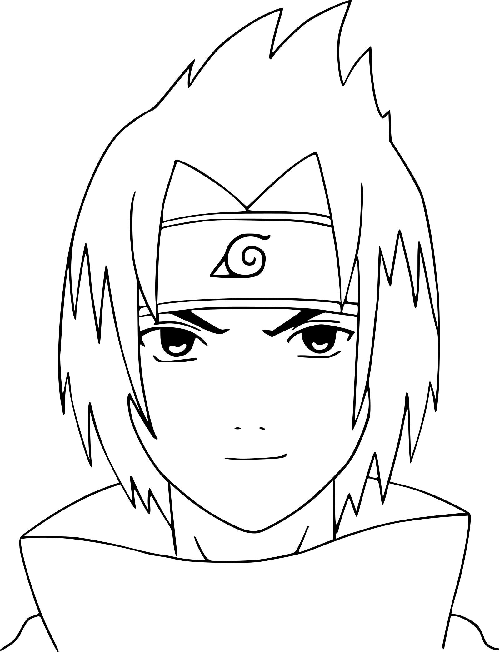 Sasuke Coloriage - Ohbq serapportantà Coloriage Naruto Sasuke