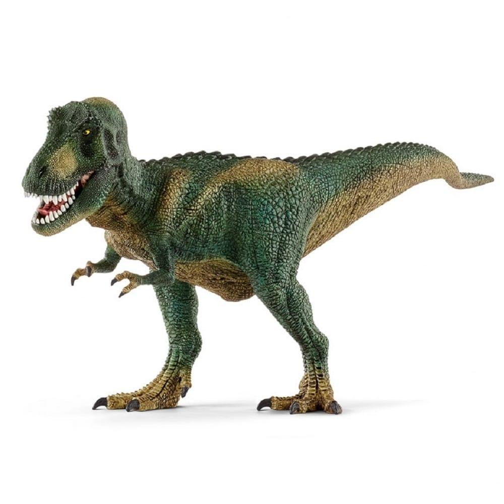 Schleich シュライヒ ティラノサウルス・レックス(ダークグリーン)14587【送料無料】 | トイザらス concernant Dinosaure Tyrex