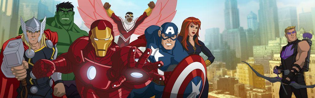 "Second Season For ""Marvel'S Avengers Assemble"" And ""Marvel concernant Dessin Des Avengers"