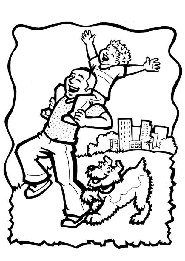 Sélection De Dessins De Coloriage Fêtes Des Pères À avec Page A Colorier Pour La Fete Des Peres