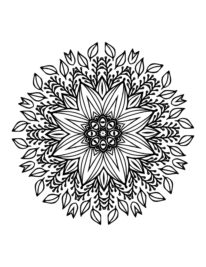 Send You 10 Beautiful Mandalas Commercial Use S1 By Pixies dedans 100 Greatest Mandala Coloring Book: