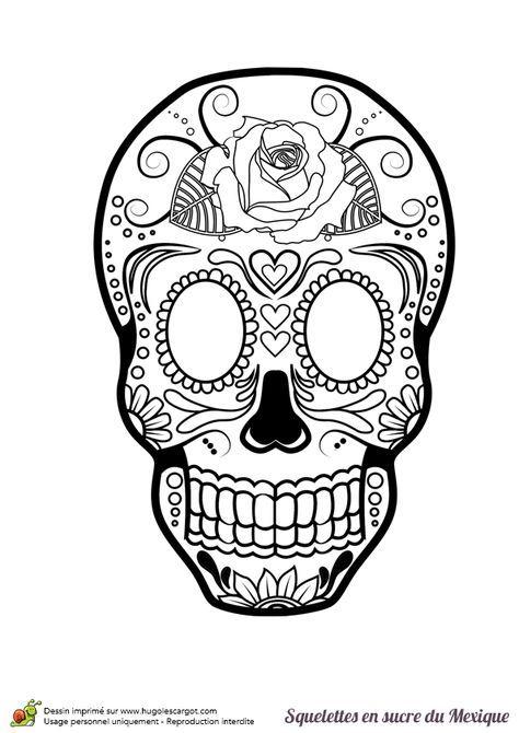Sfr Mail | Coloriage Tête De Mort, Coloriage, Coloriage destiné Tete De Mort A Colorier