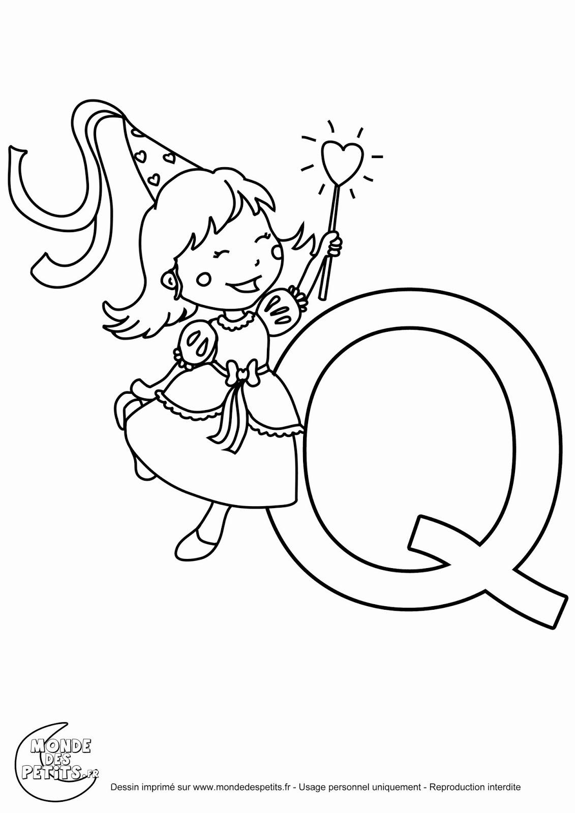 Sgblogosfera. María José Argüeso: Coloriage Alphabet Princesse pour Coloriage Alphabet Complet A Imprimer