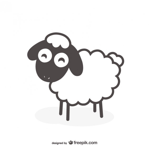 Sheep Images | Free Vectors, Stock Photos & Psd tout Dessin Mouton Rigolo