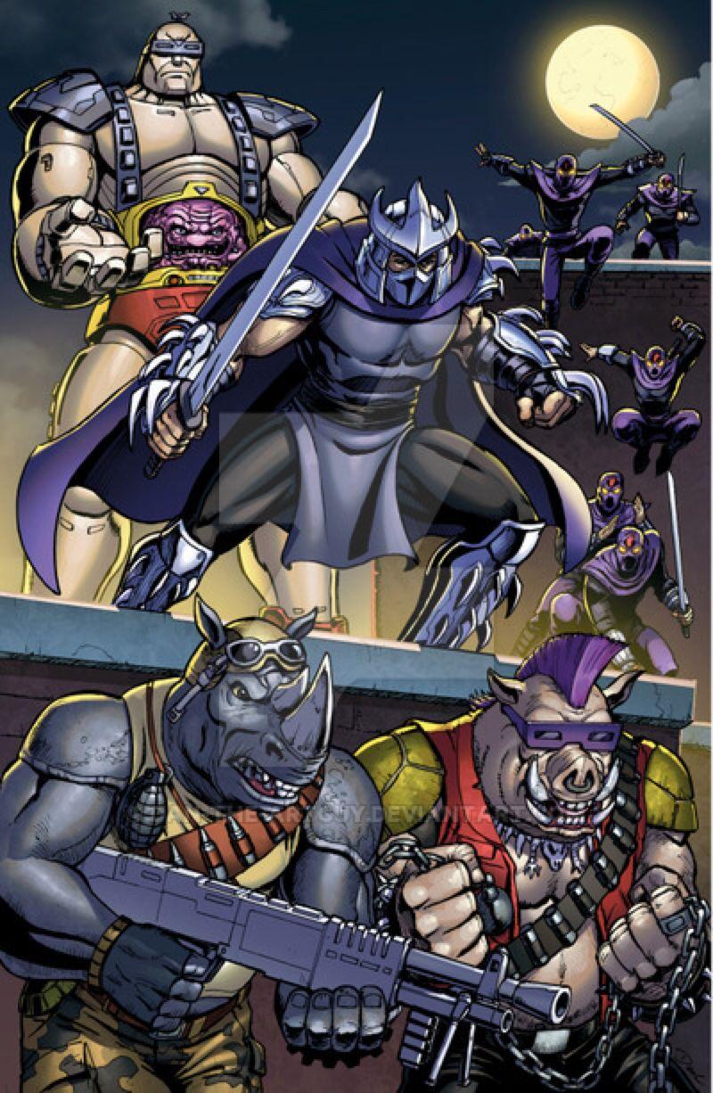 Shredder By Dan-The-Artguy On @Deviantart | Tortues Ninja intérieur Tortue Ninja Shredder