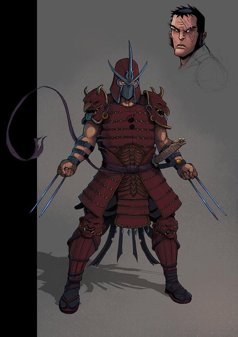 Shredder By Teratophile.deviantart On @Deviantart tout Tortue Ninja Shredder
