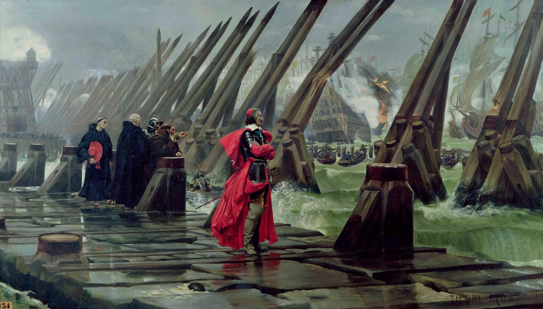 Siège De La Rochelle (1627-1628) — Wikipédia Serapportantà destiné Ovs+La+Rochelle