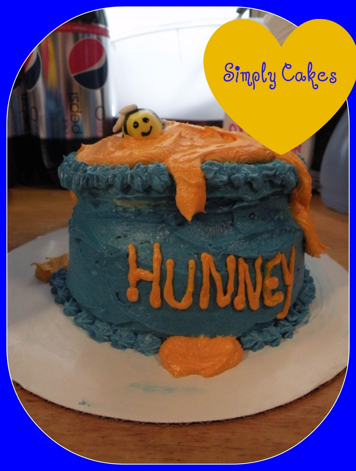 Simply Cakes: Winnie The Pooh: First Birthday serapportantà Pooh Gateau