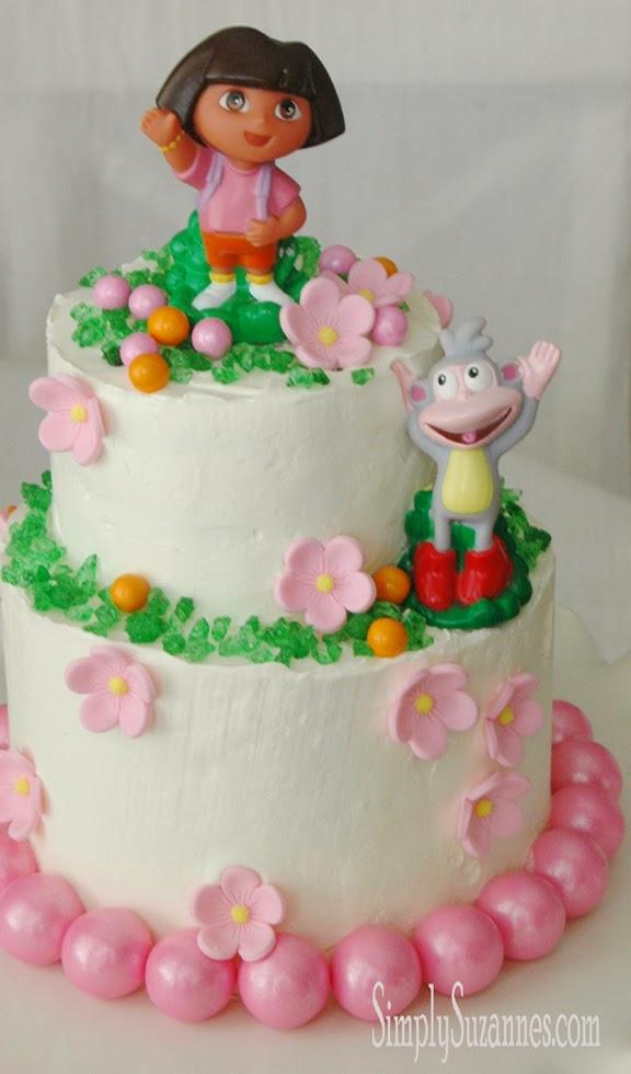 Simply Suzanne'S At Home: A Dora The Explorer Cake For Our concernant Gateau Dora