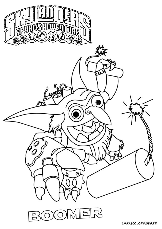 Skylanders Swap Force Coloriage | Danieguto encequiconcerne Coloriage Skylanders Swap Force