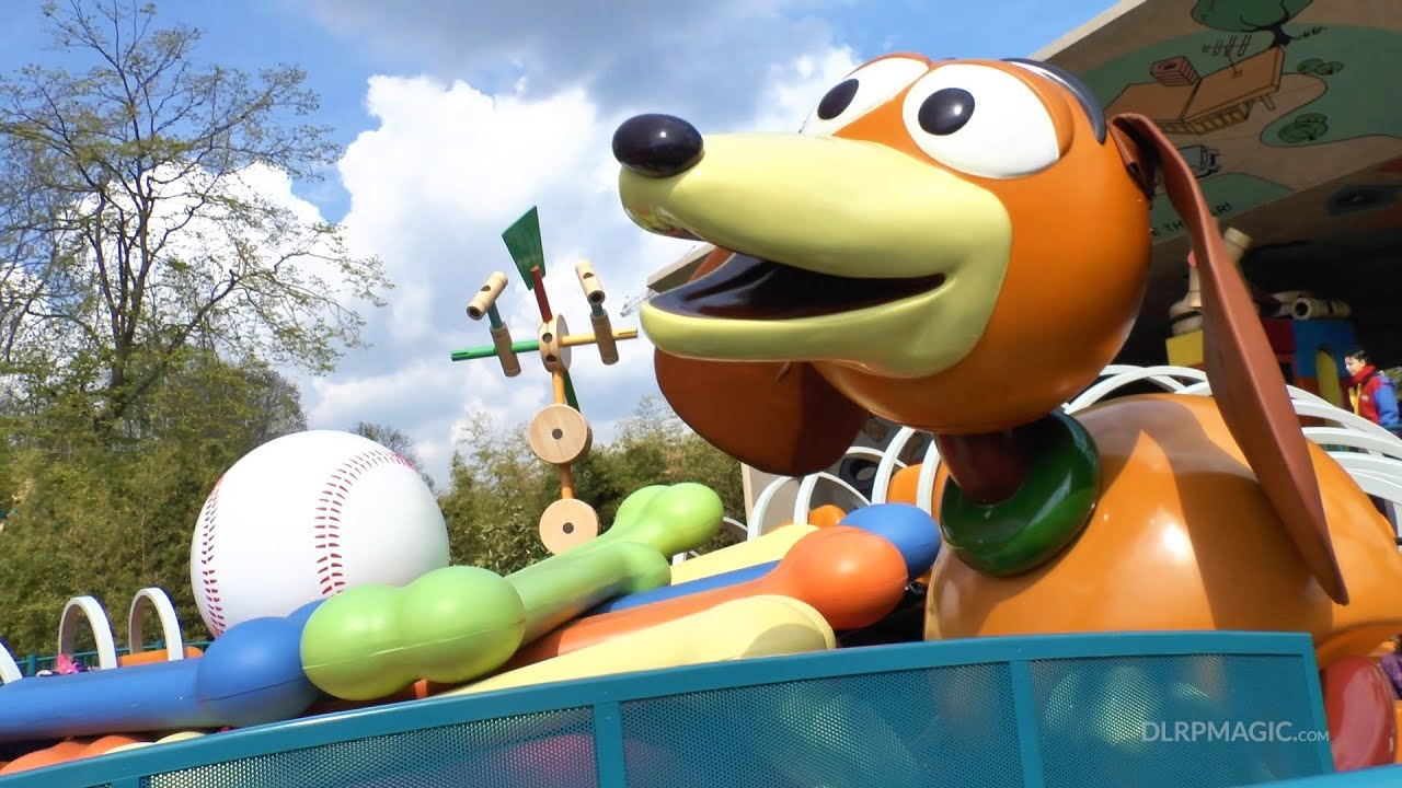 Slinky Dog Zigzag Spin - Disneyland Paris Hd Complete intérieur Zig Zag Toy Story