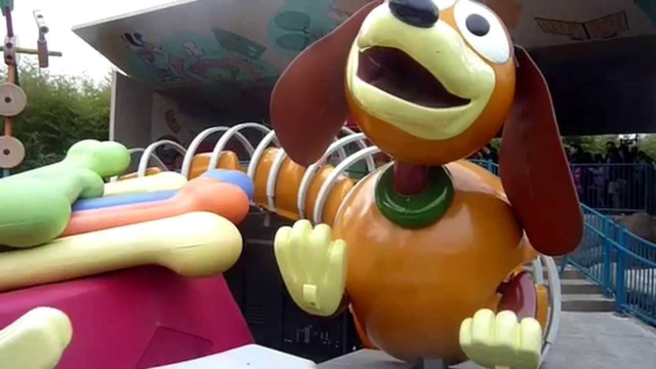 Slinky Dog Zigzag Spin - Disneyland Paris - tout Zig Zag Toy Story