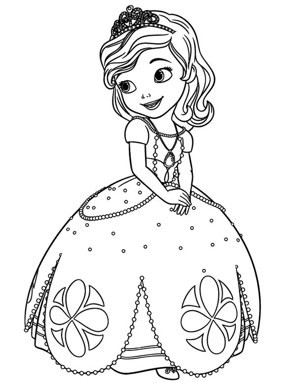 Sofia The First Coloring Pages - Best Coloring Pages For Kids intérieur Coloriage Princesse Sofia