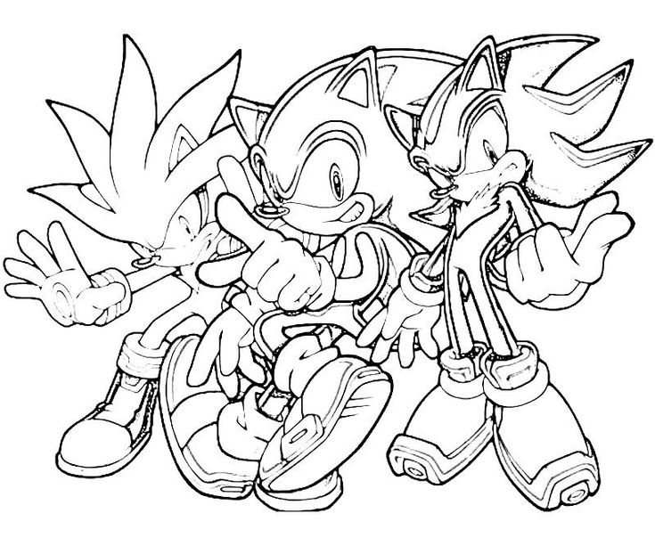 Sonic The Hedgehog Coloring Pages | Printable Sonic concernant Coloriage Sonic Le Film