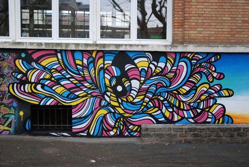 Speedy Graphito - Les Lilas, France - 2011 /// Http concernant Graffiti Romain