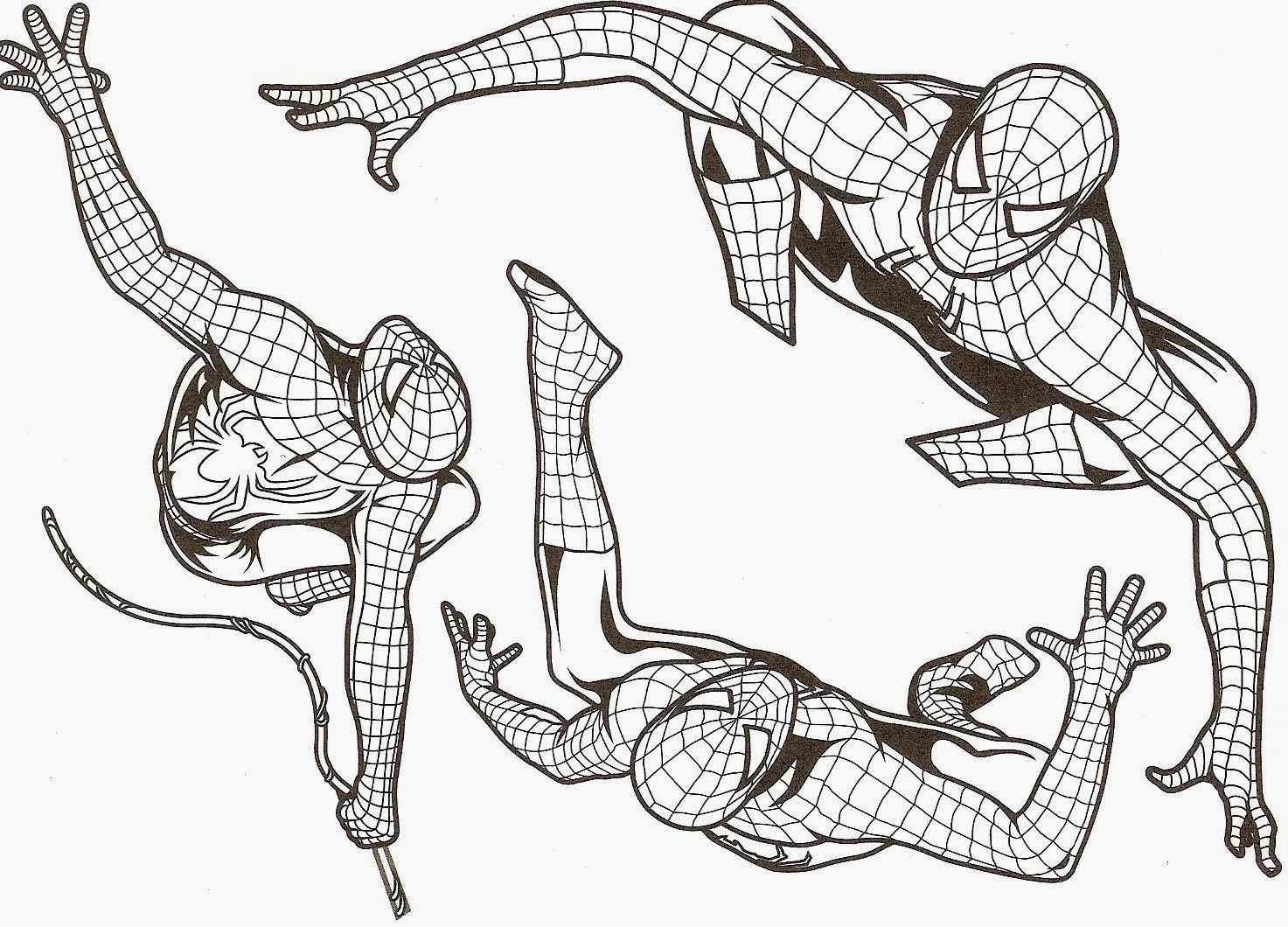 Spiderman Coloriage Gratuit Imprimer | Liberate destiné Coloriage De Spiderman