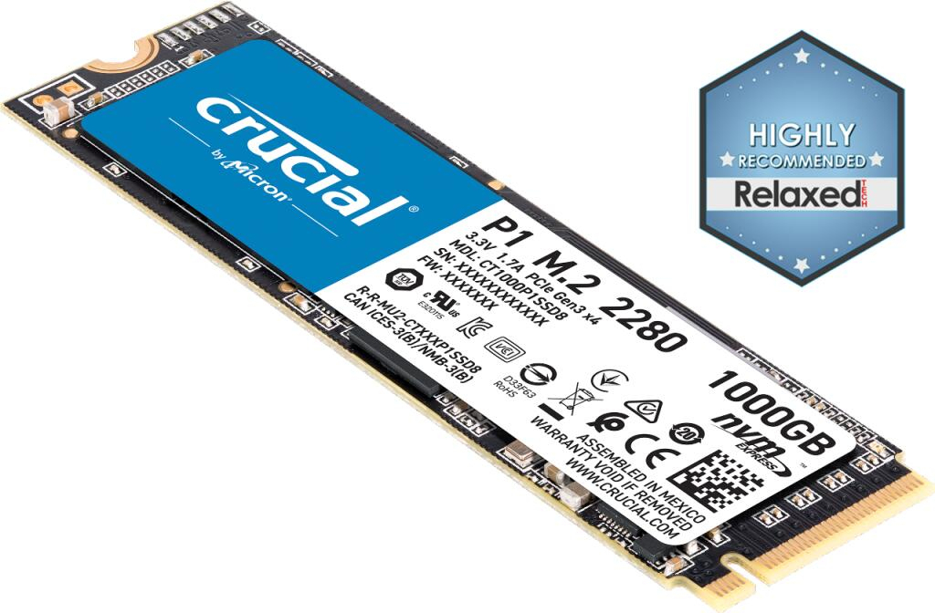 Ssd Interne M.2 Nvme Crucial P1 (Qlc, Dram) - 1To pour Image S?Quentielle Koala