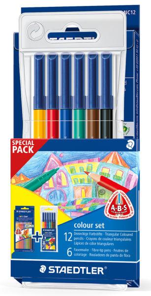 Staedtler Crayon De Couleur Noris Club & Feutre De tout Feutre Coloriage Professionnel