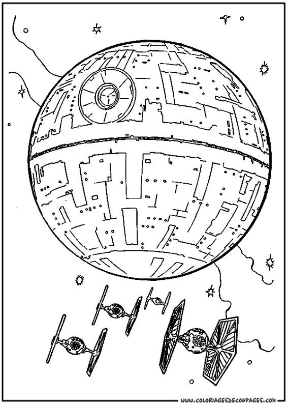 Star Wars 51 Coloriage À Colorier. Les Coloriages Et dedans Coloriage Star Wars À Imprimer Gratuit