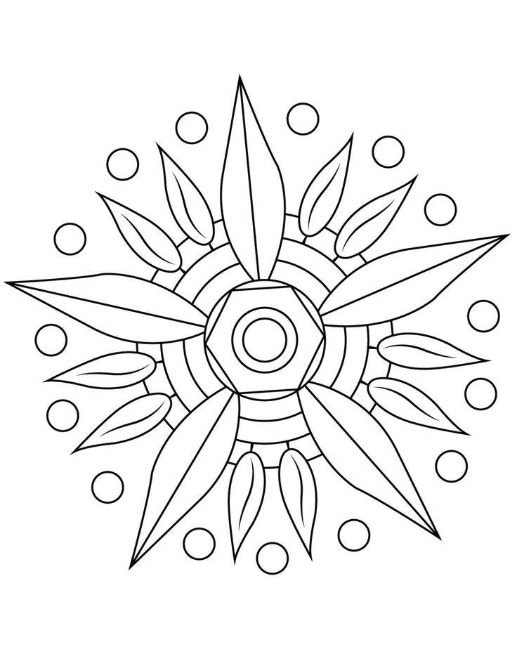 Stci, Coloriage Pour Adultes Et Enfants Mandalas destiné Mandala Pour Petit