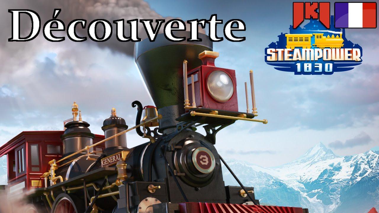 Steampower1830 Gameplay Fr - 01 - Un Jeu De Train Gratuit intérieur Jeux De Malitel Pony Gratuit