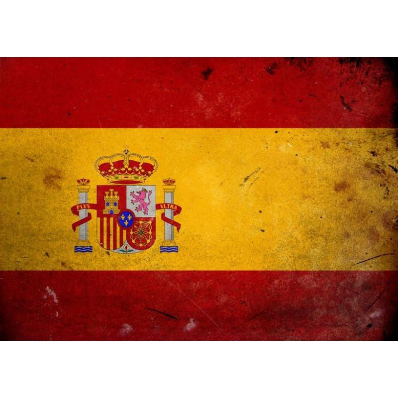 Sticker Espagne - Symbole Pays Etiquette & Autocollant destiné Drapeau Espagnol A Imprimer