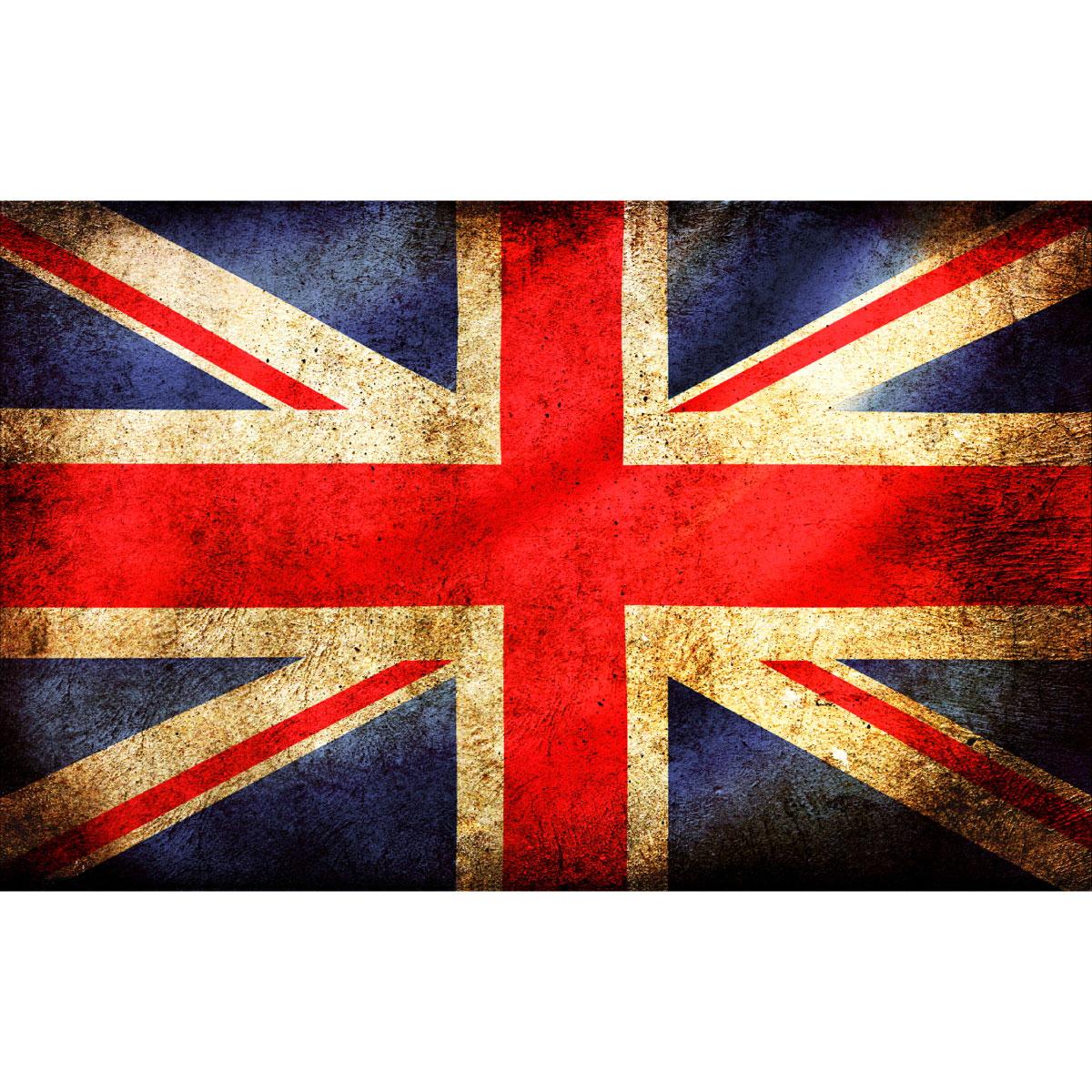 Stickers Muraux Animaux - Sticker Drapeau D'Angleterre dedans Drapeau De L Angleterre À Colorier