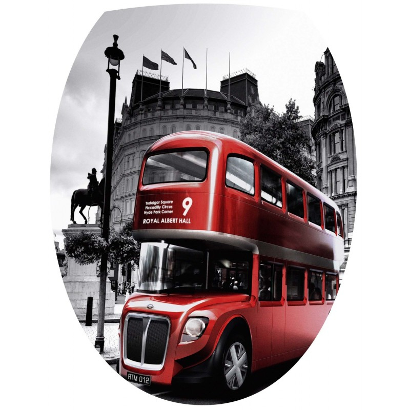 Stickers Wc Bus Anglais - Stickers Muraux Deco tout Image Bus Anglais
