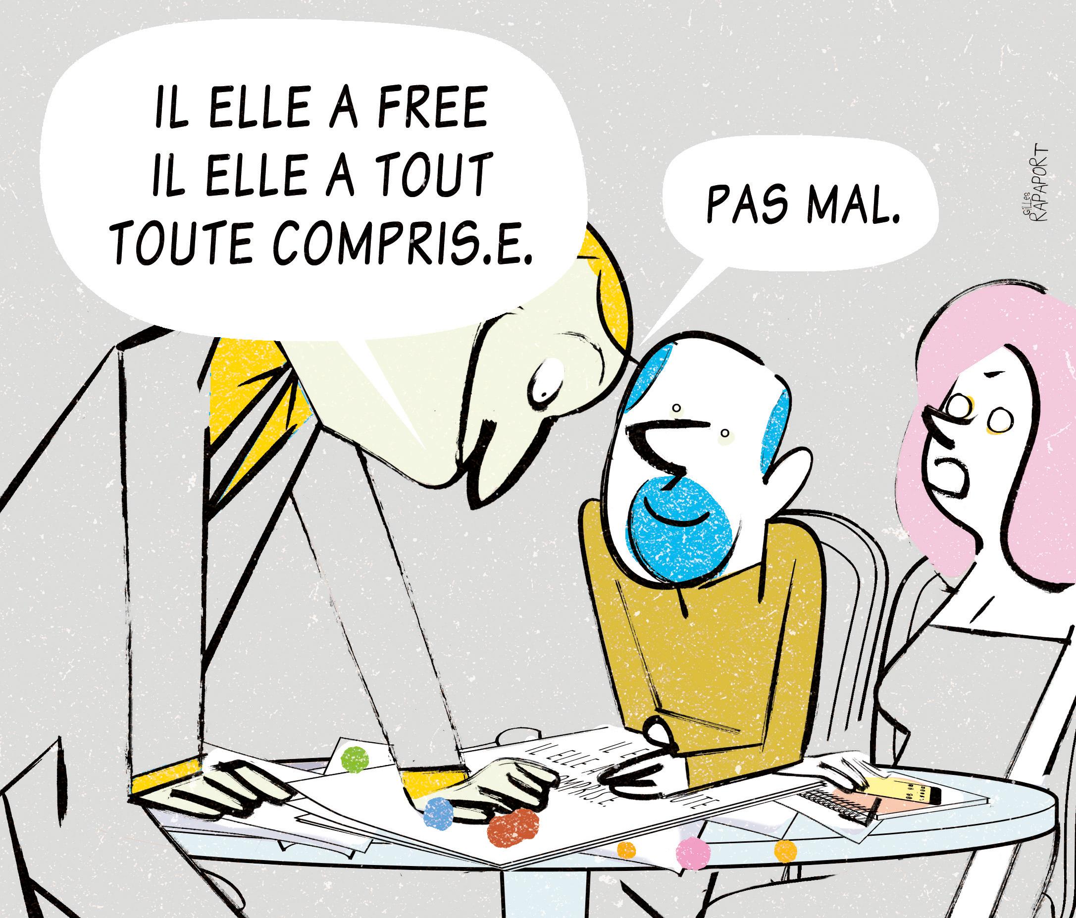 Stratégies. L'écriture Inclusive Est-Elle Soluble Dans La concernant ?Criture Inclusive