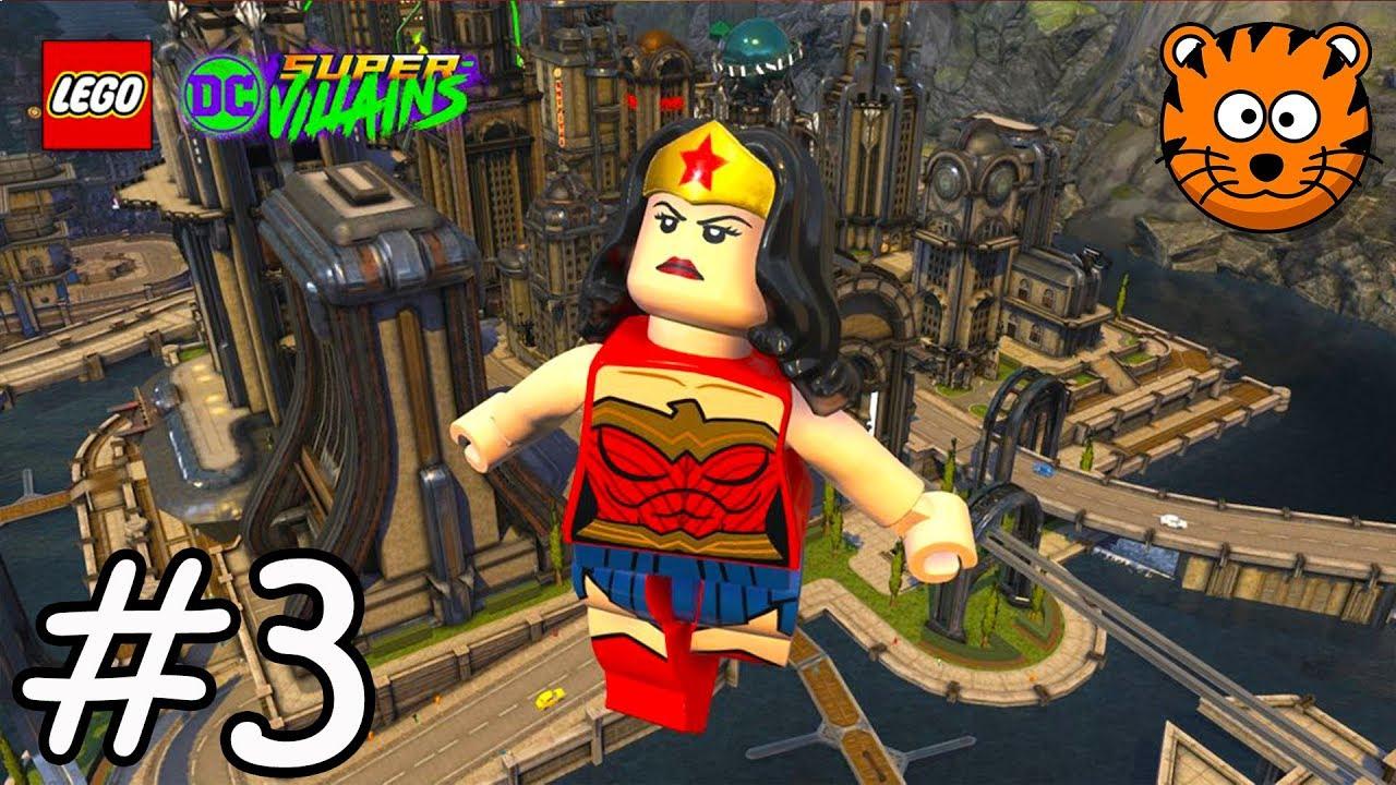 Super Vilains Lego Dc Super Villains Fr - Jeux Vidéo De destiné Lego City Dessin Animé
