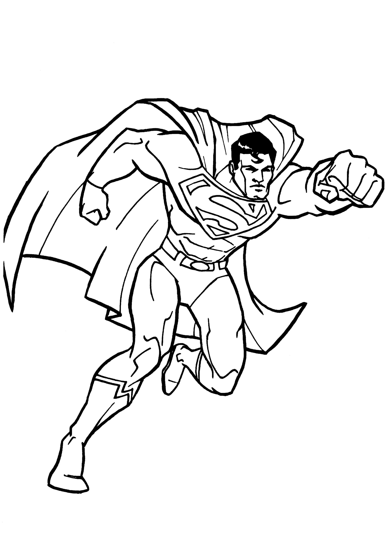 Superman Kifestő És Foglalkoztató Könyv à Coloriage Super Héros A Imprimer