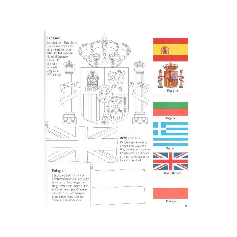 Susan Meredith : Les Drapeaux Du Monde À Colorier | Livres intérieur Drapeau Brésil À Colorier