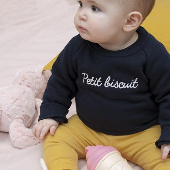 Sweat Petit Biscuit - Les Petits Raffineurs pour Les Petits Raffineurs