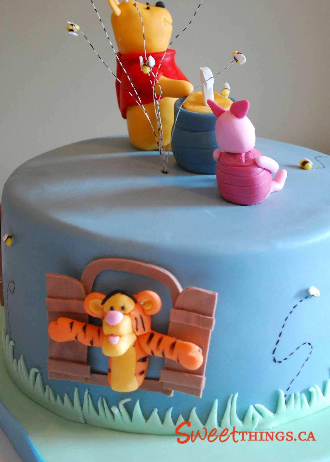 Sweetthings: Winnie The Pooh Cake avec Pooh Gateau