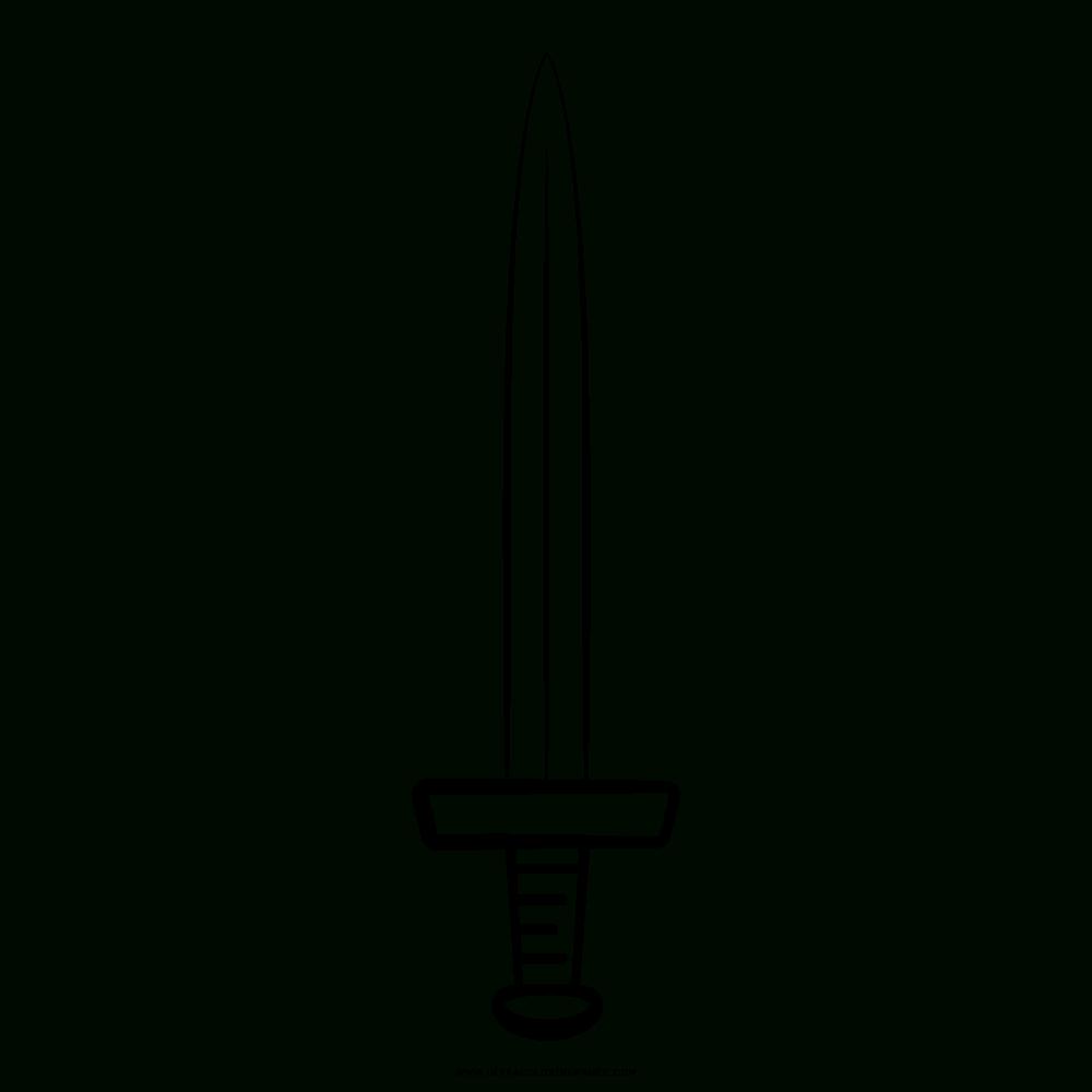 Sword Coloring Page - Ultra Coloring Pages dedans Coloriage Épée