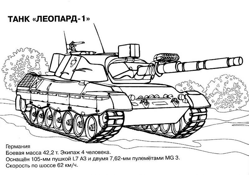Tank Coloring Pages - Free Coloring Pages - War - Military dedans Dessin De Tank