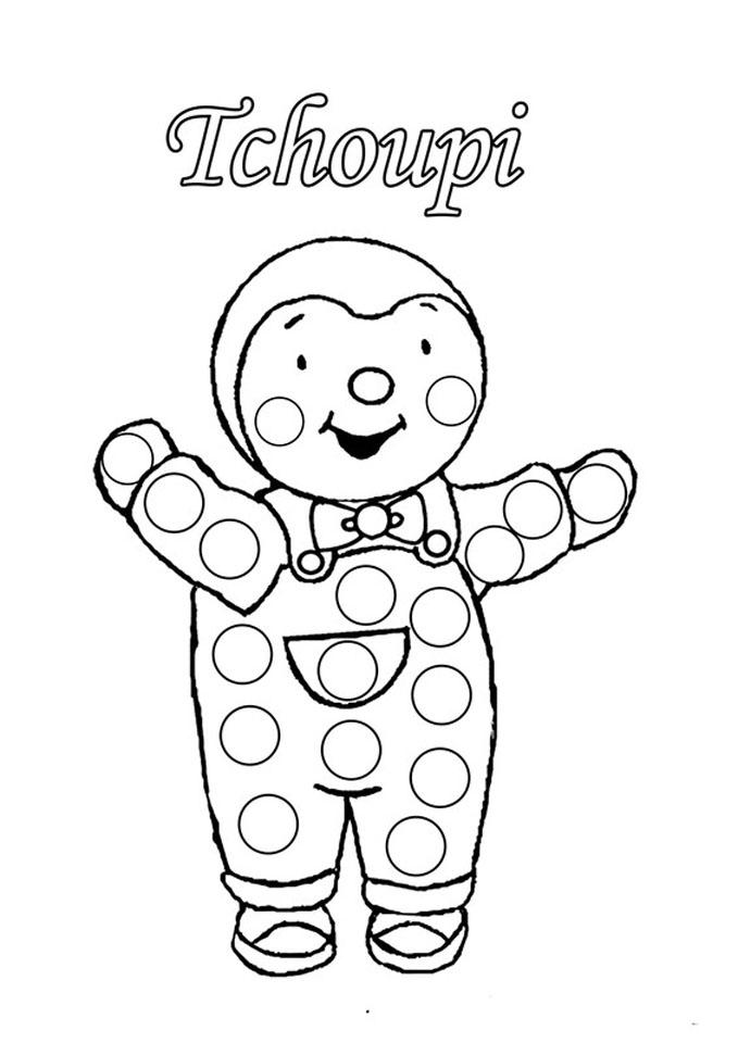Tchoupi 3 - Coloriage T'Choupi - Coloriages Pour Enfants avec Coloriage 3 Ans À Imprimer Gratuit Pdf