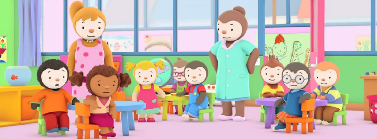 T'Choupi À L'École - Série (2013) - Senscritique destiné T'Choupi ? L'?Cole