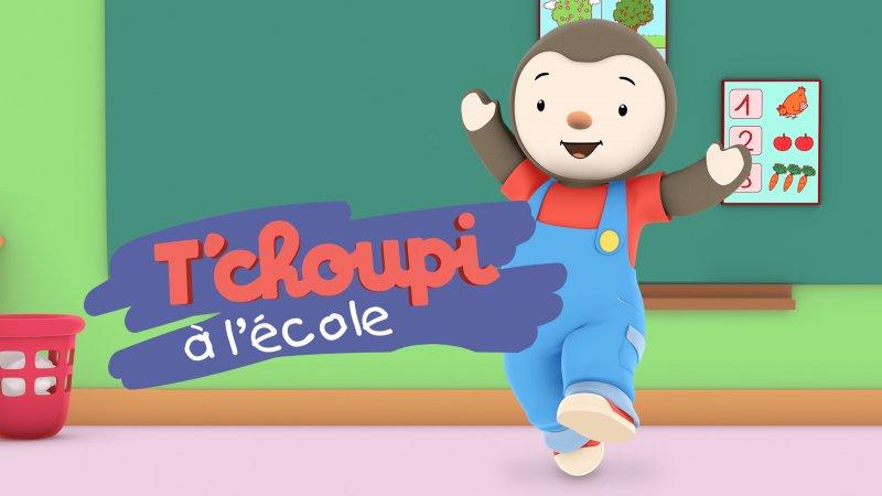 T'Choupi À L'École - Tous Les Épisodes En Streaming serapportantà T'Choupi ? L'?Cole